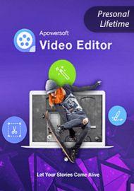 Apowersoft Video Eidtor - Personal Edition (Lifetime)