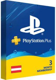 Playstation Plus PSN Cards - 90 Days AT