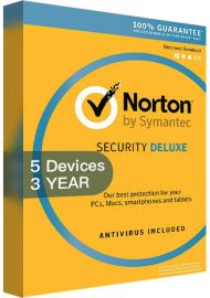 Norton Security Deluxe 3 - 5 Devices - 3 Years [EU]