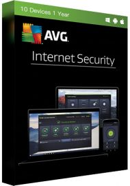 AVG Internet Security - 10 Devices - 1 Year [EU]