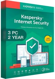 Kaspersky Internet Security Multi Device 2020 - 3 Devices - 2 Years [EU]