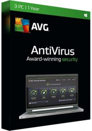 AVG Antivirus - 3 PCs - 1 Year