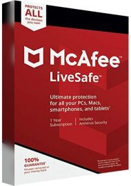 McAfee Life Safe Unlimited - 1 Year