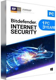 Bitdefender Internet Security 1 PC 3 Years [EU]