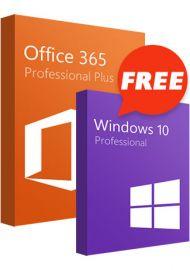 Microsoft Office 365 Pro Plus (+Windows 10 Pro for free)
