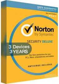 Norton Security Deluxe 3.0 3 Devices  3 Years