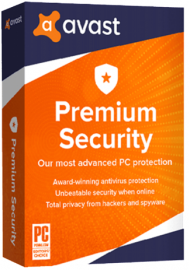 Avast Premium Security 5 PCs 3 Years