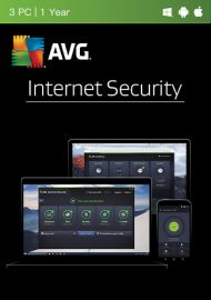 AVG Internet Security Multi Device - 3 Devices - 1Year