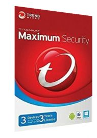 Trend Micro Maximum Security Multi Device - 3 Devices - 3 Years