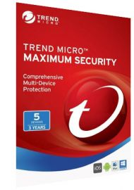 Trend Micro Maximum Security Multi Device - 5 Devices - 3 Years