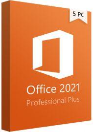 Microsoft Office 2021 Professional Plus - 5 PCs