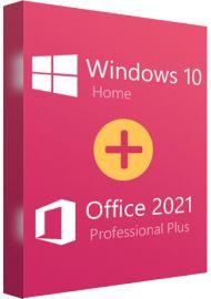 Windows 10 Home + Office 2021 Pro Plus Bundle