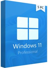 Windows 11  Professional - 5 PCs