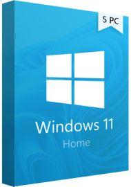 Windows 11  Home - 5 PCs