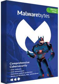 Malwarebytes Premium - 3 Devices - 1 Year [EU]