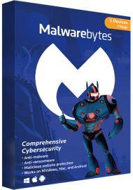 Malwarebytes Premium - 5 Devices - 1 Year