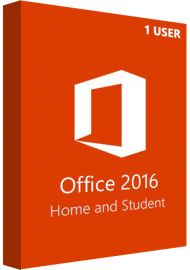 Microsoft Office 2016 Home and Student - 1 User