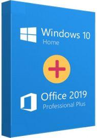 Office 19 Pro + Win 10 Home Bundle