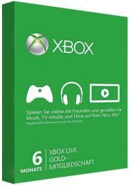 Xbox Live Gold Membership - 6 Month Global