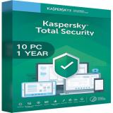 Kaspersky Total Security Multi Device 2020 - 10 Devices - 1 Year [EU]