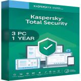 Kaspersky Total Security Multi Device 2020 - 3 Devices - 1 Year