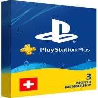 Playstation Plus PSN Cards - 90 Days CH